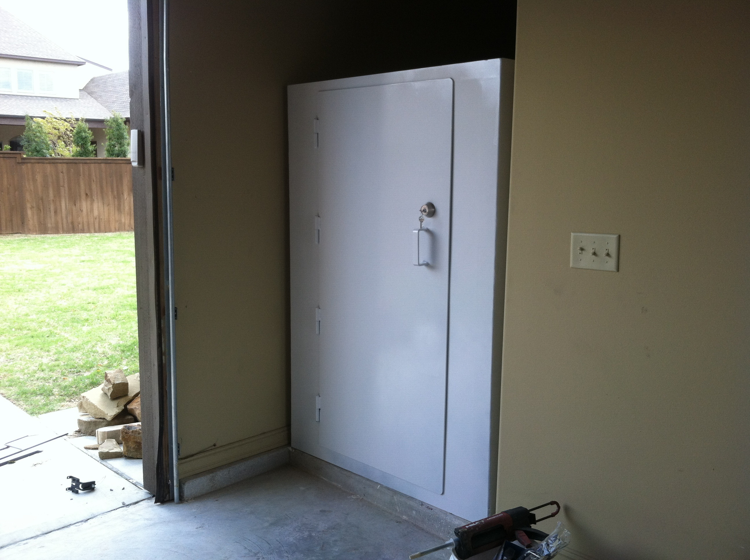 Safe storm shelters and safe rooms total concepts for Safe room
