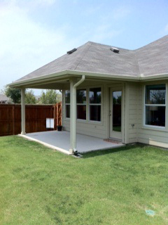 Patio and Cover Install